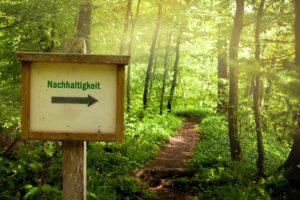 Nachhaltigkeit Wegweiser
