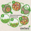 Mikrobiologisches Wirkprinzip Mülltonne