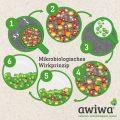 Mikrobiologisches Wirkprinzip bei Polstern