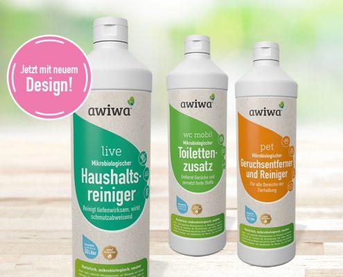 Neue awiwa Etiketten