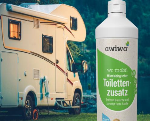 Toilettenzusatz für die Campingtoilette